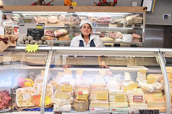 banco dei formaggi locali