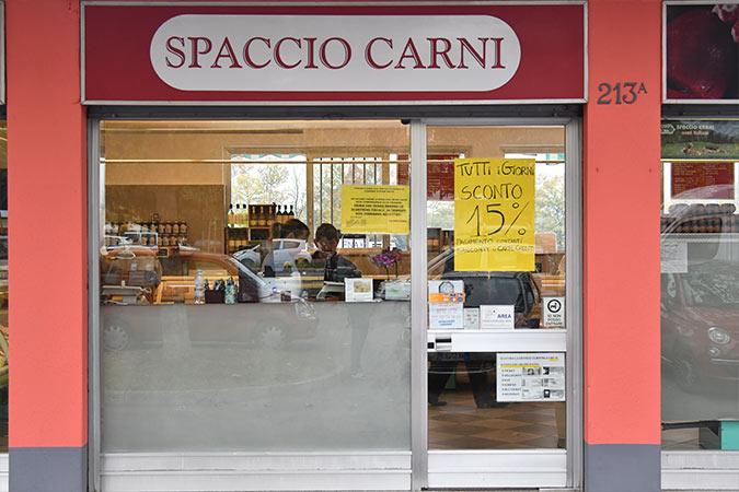 negozio di vendita al dettaglio spaccio carni di Celadina