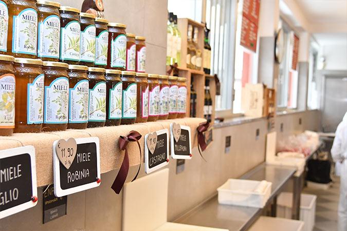 vendita miele macelleria spaccio carni Bergamo