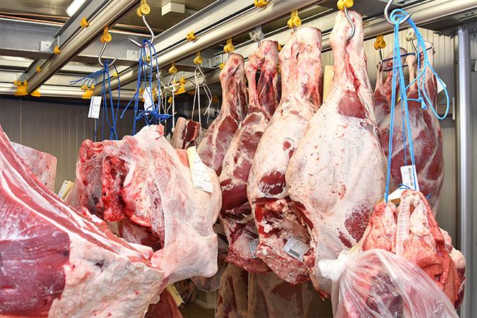stoccaggio della carne macelleria Bergamo