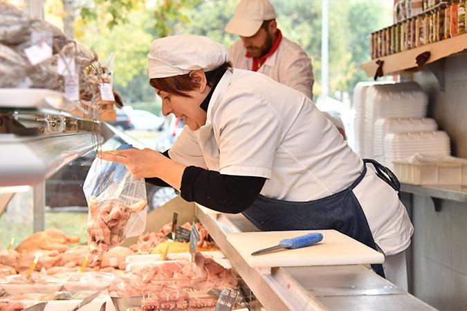 banco vendita carne al dettaglio