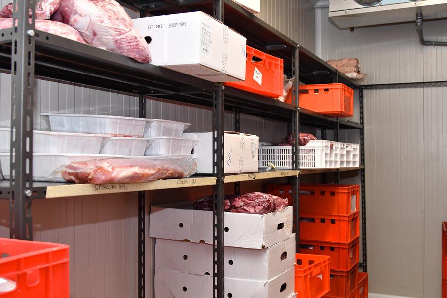 stoccaggio cella carne bergamo
